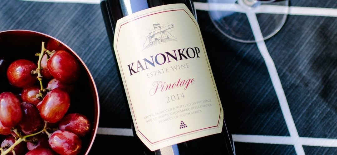 Featured wine and dish – Kanonkop Pinotage and Char-Grilled Venison with Plum Balsamic Reduction