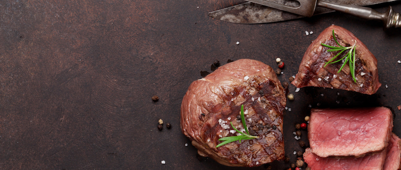 Featured Food and Wine pairing: Easy Filet Mignon Recipe paired with Grenache